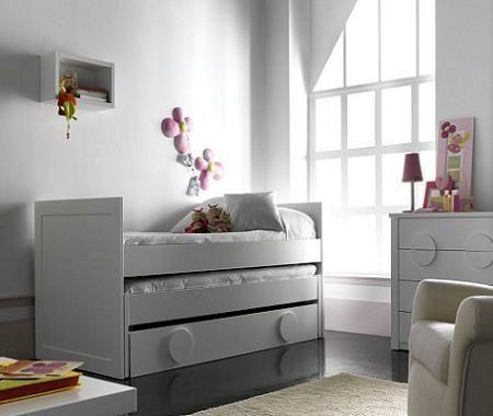 5 camas nido infantiles decoraci n - Camas infantiles para nina ...