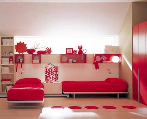 Fotos de habitaciones infantiles decoracion de for Cuartos para ninas gemelas
