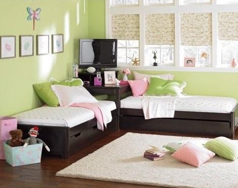 Fotos de camas gemelas infantiles la soluci n a problemas for Camas gemelas juveniles