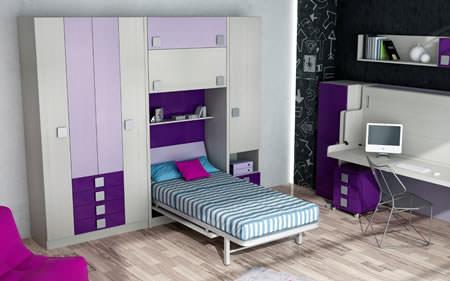 5 modelos de camas plegables baratas decoraci n for Habitaciones nina baratas