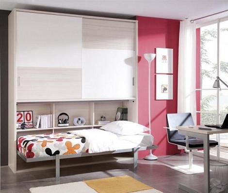 Decoraci n 3 muebles con cama abatible - Muebles cama abatibles ...