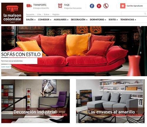 La maison coloniale estrena tienda online en espa a for La maison coloniale soldes