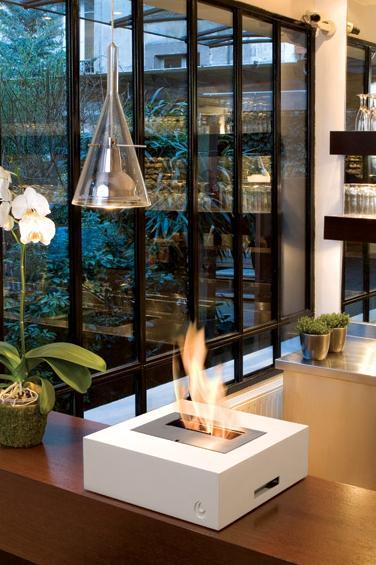 Decoración chimeneas muy modernas para decorar tu salón