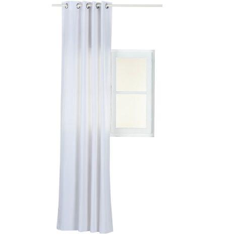 Las cortinas y estores blancos para el hogar un acierto - Cortinas comedor leroy merlin ...