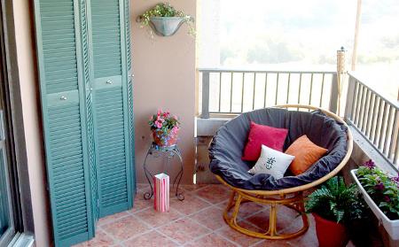 Decoraci n fotos de balcones - Sillas para balcon ...