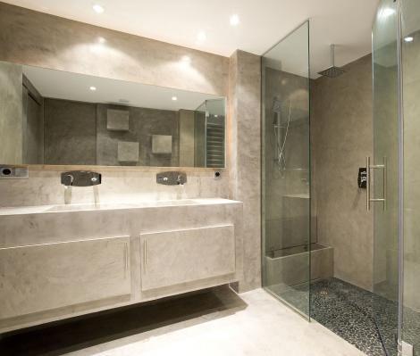 El microcemento para decorar tu casa una apuesta segura - Revestimiento de paredes leroy merlin ...
