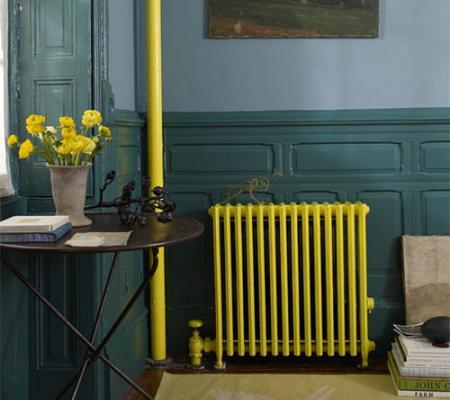 Pintar el radiador decoraci n for Decorar radiadores