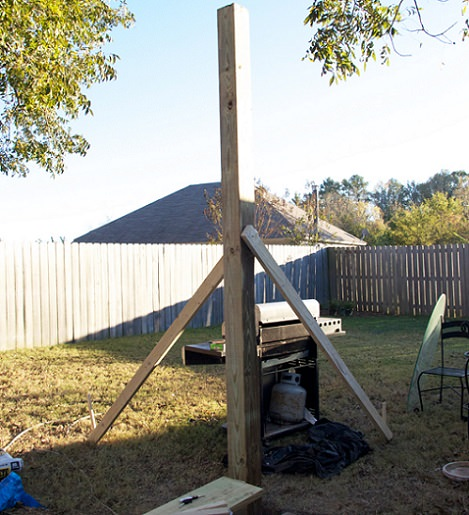 C mo hacer una p rgola de madera barata paso a paso - Como montar una pergola ...