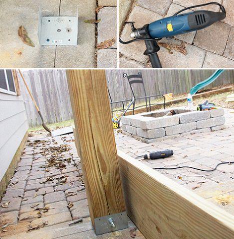 24 luxury pergolas de madera reciclada - Como construir una pergola de madera ...