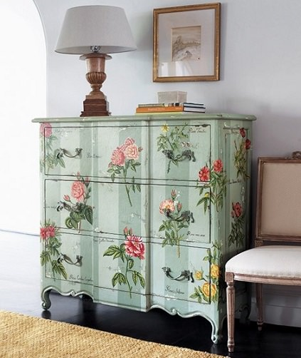 1000 images about decoupage on pinterest antigua - Muebles shabby chic ...