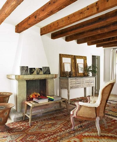 Fotos de casas de campo que inspiran decoraci n for Decoracion casas de campo
