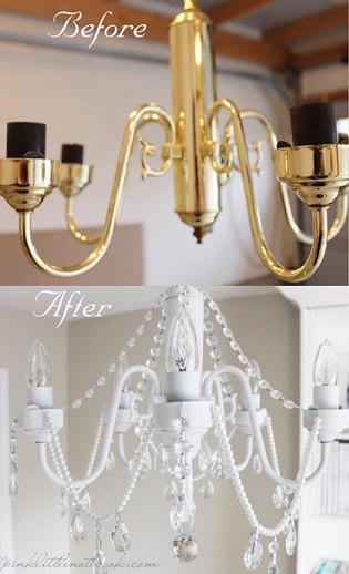 Diy de decoraci n una l mpara de ara a casera - Decoracion lamparas de techo ...