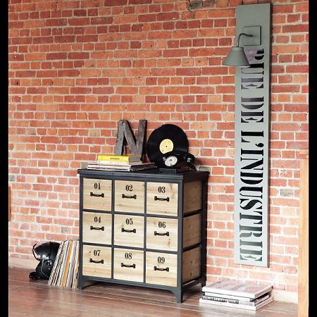 5 muebles para tu loft decoraci n for Muebles industrial loft