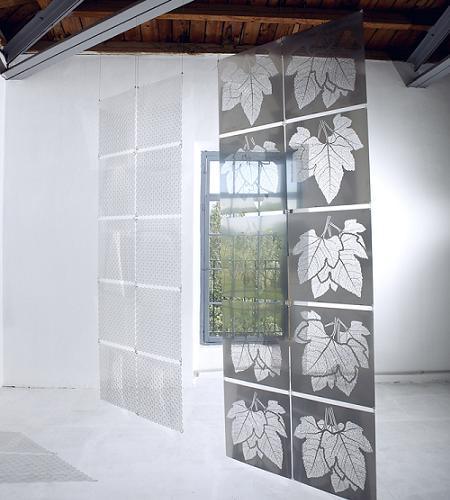 Separadores de ambientes de acero inoxidable decoraci n - Cortinas separadoras de ambientes ...