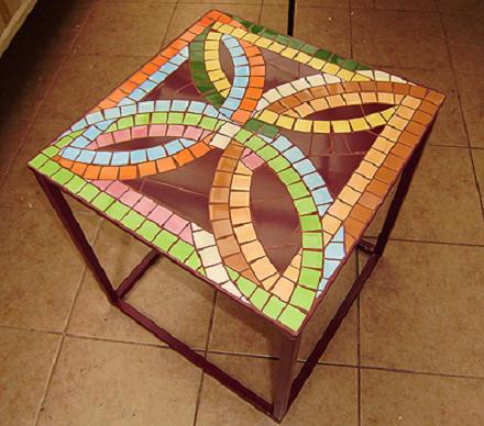 Decoraci n los mosaicos un toque de color muy original for Disenos para mosaicos