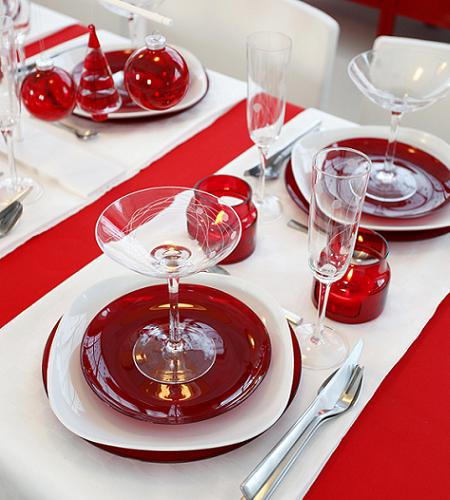 Mesas de navidad, decoradas con mucho estilo