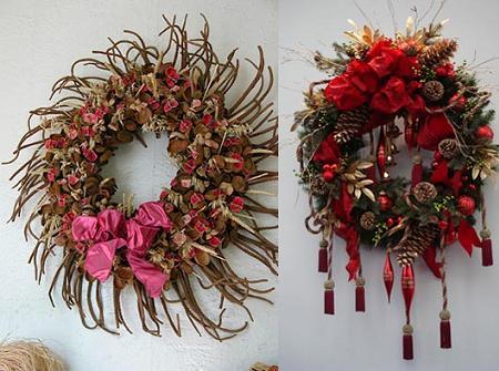 coronas de navidad originales y de diseo