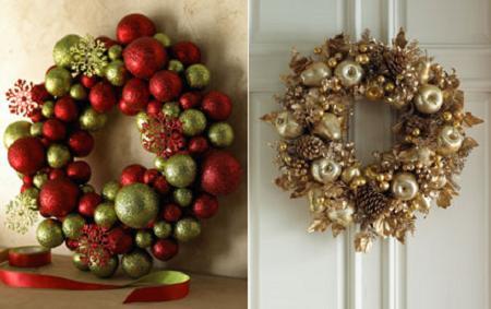 coronas de navidad originales y de diseo - Coronas Navidad