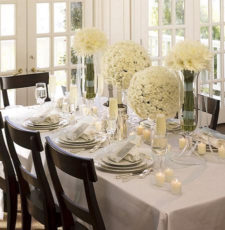 Fotos muy inspiradoras para poner la mesa en fin de a o y for Mesa de fin de ano