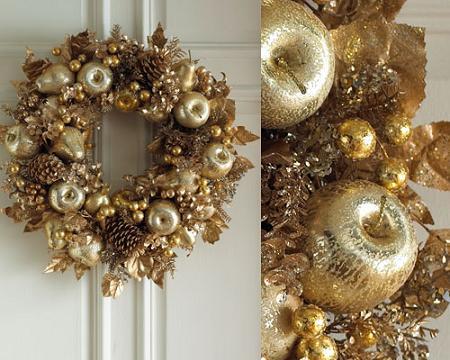 Coronas de Navidad muy chics!!!