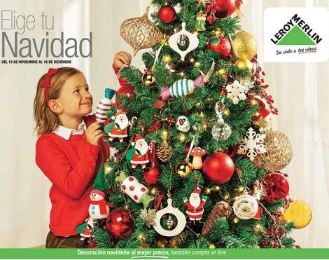 Decoraci n decorar navidad - Arbol navidad leroy ...