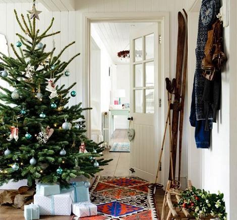 Decoración moderna de Navidad