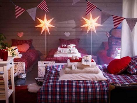 Dormitorios de Navidad