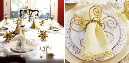 Ideas para decorar la mesa en fin de a o decoraci n for Mesa de fin de ano