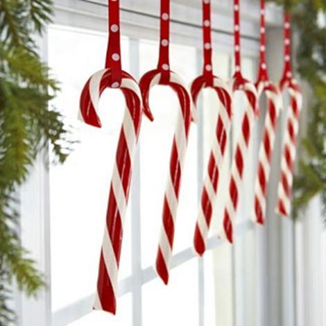 Decoración de Navidad para la ventana