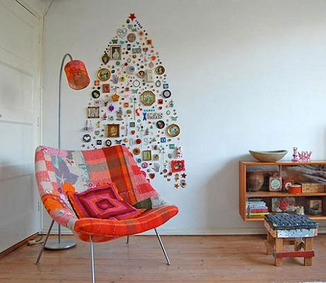 Decoración pared de Navidad