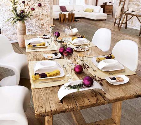 Decorar la mesa en Nochevieja