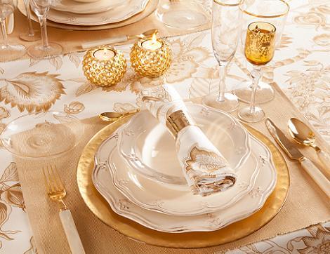 La mesa de navidad seg n zara home decoraci n for Vajillas elegantes