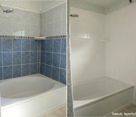 C mo pintar azulejos de cer mica paso a paso decoraci n - Pinturas para azulejos de bano ...