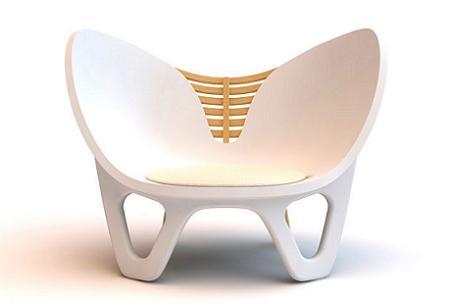 Decoracin Illum Chair la silla inspirada en el cuerpo femenino