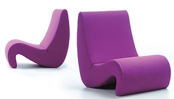 lounge chair Amoebe de Vitra