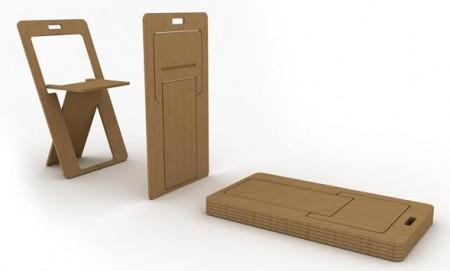 Nuevo concepto de sillas plegables decoraci n for Sillas plegables diseno