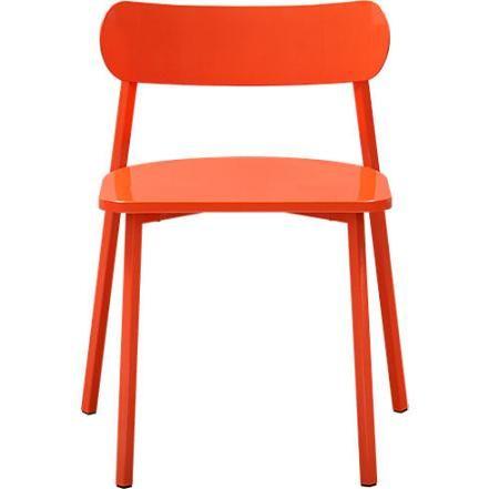 Silla naranja