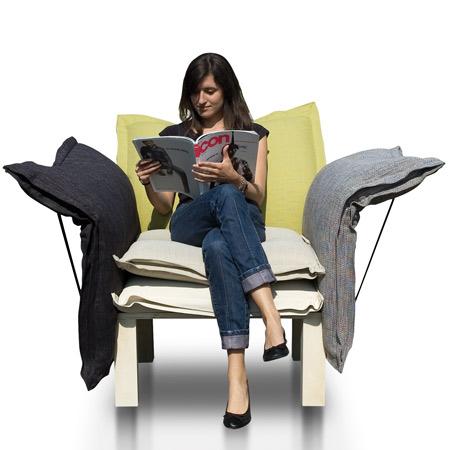 Guixe ha creado un cómodo sillón que se llama Xarxa