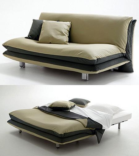 Decoraci n 10 sof s cama de dise o ideales para - Sofas cama de 1 20 cm ...