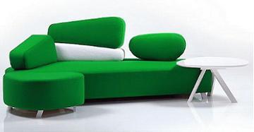 Sof cama mosspink de br hl de dise o moderno decoraci n for Sofa cama diseno moderno