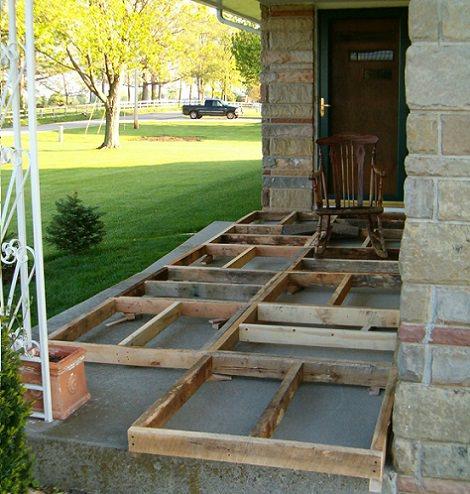 C mo colocar un suelo de parquet hecho con palets de madera - Suelos faciles de poner ...