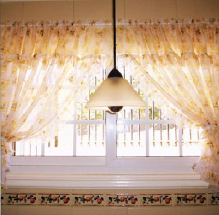Cortinas para la cocina c mo elegirlas decoraci n - Diseno de cortinas de cocina ...