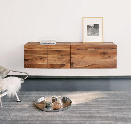 Decoraci n muebles r sticos pero originales para tu sal n - Muebles tv originales ...