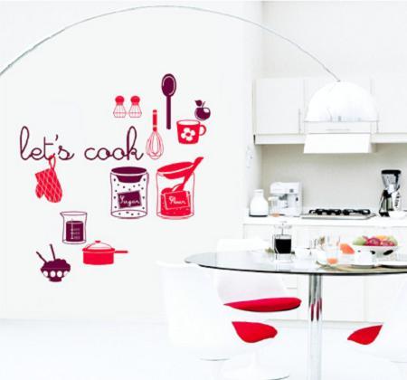Decoraci n vinilos decorativos para la cocina for Vinilos decorativos para cocina
