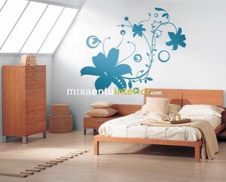 Ideas para decorar con viinilos para el dormitorio