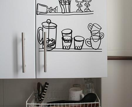 22 bonito vinilo para cocinas fotos como decorar tu - Vinilos de cocina ...