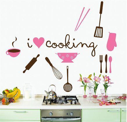 25 vinilos para la cocina