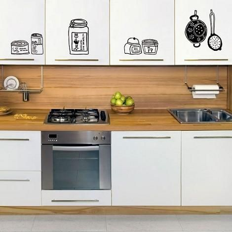 Decoraci n vinilos para muebles - Cocinas con vinilo ...