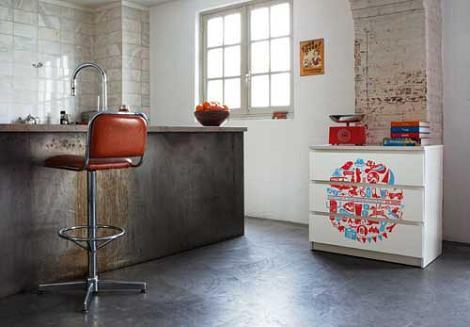 Decoraci n vinilos para muebles - Vinilo muebles cocina ...