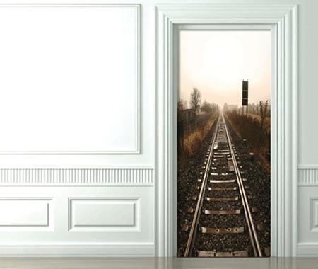Decoraci n vinilos para puertas - Puertas con vinilo ...